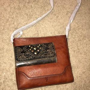 Frye & Co leather crossbody and western wallet!